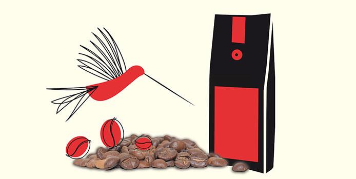 Don Roberto Kaffee Werbeposter
