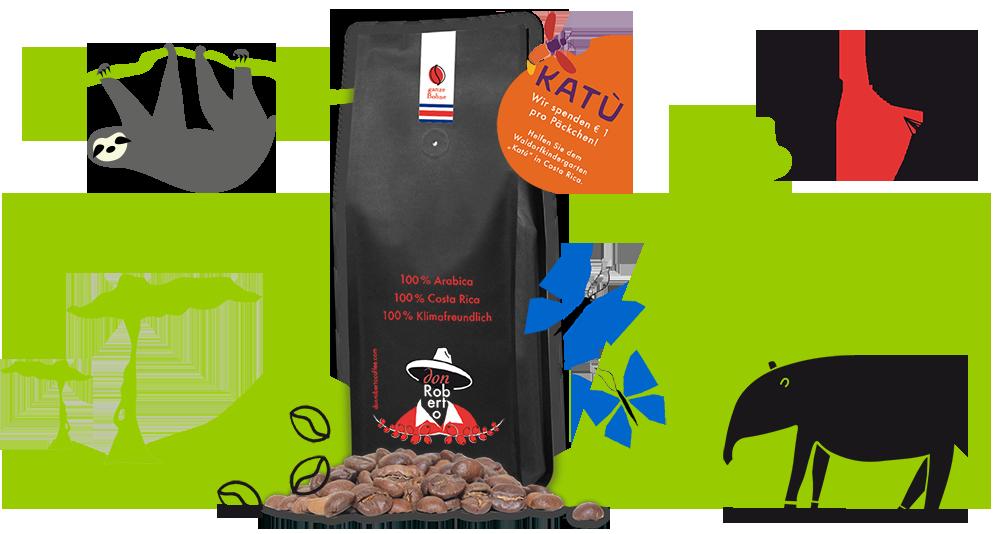 Don Roberto Klimafreundlicher Kaffee